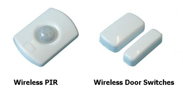 Optional Wireless Sensors